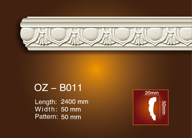 Lowest Price for Chair Rail Mdf Moulding -