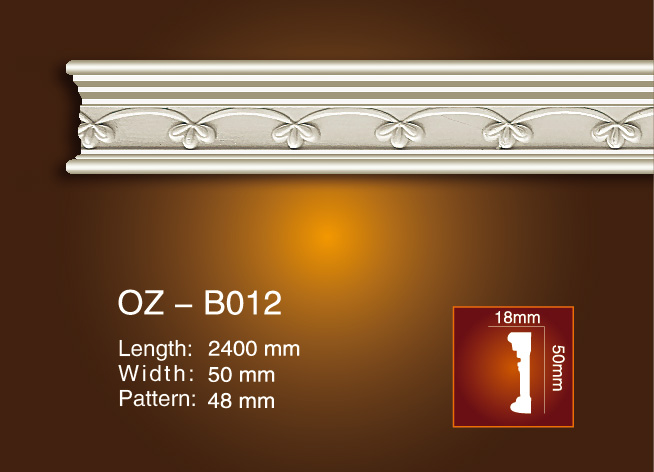 professional factory for Home Decoration Pieces - Carved Flat Line OZ-B012 – Ouzhi Featured Image