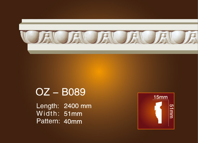 Factory directly supply Injection Mould Nylon Gear - Carved Flat Line OZ-B089 – Ouzhi