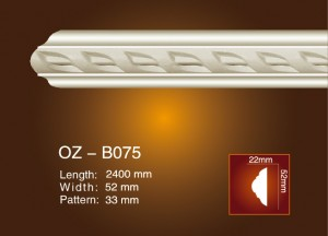 Carved Flat Line OZ-B075