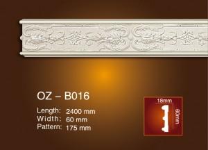 Carved Flat Line OZ-B016
