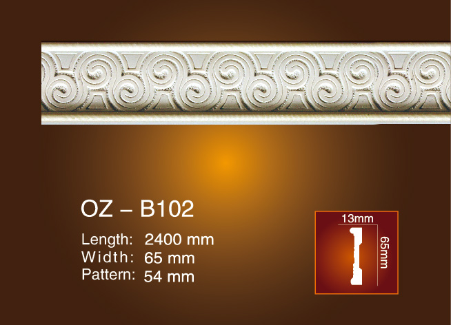 Factory directly supply Pu Automobile Seat Foam Mold - Carved Flat Line OZ-B102 – Ouzhi Featured Image