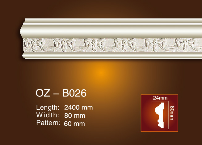 Factory For Customized Eps Mould - Carved Flat Line OZ-B026 – Ouzhi