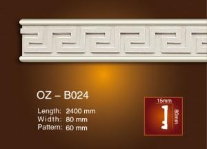Carved Flat Line OZ-B024