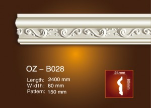 Wholesale Discount Ce Wall Mounted Fireplace - Carved Flat Line OZ-B028 – Ouzhi