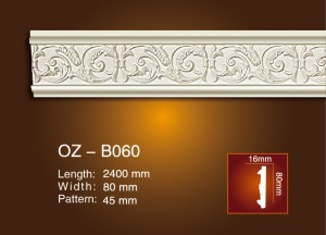 Carved Flat Line OZ-B060