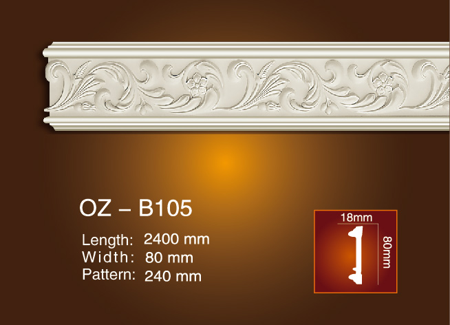 8 Year Exporter Decorative Leather Wall Panels - Carved Flat Line OZ-B105 – Ouzhi Featured Image