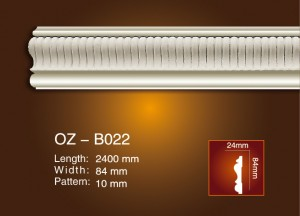 Rapid Delivery for Wedding Decorative Pillar - Carved Flat Line OZ-B022 – Ouzhi