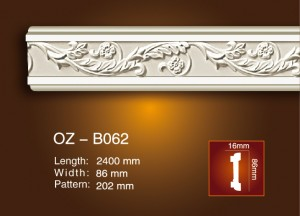 Discount Price Polyurethane Moulding Cornice -