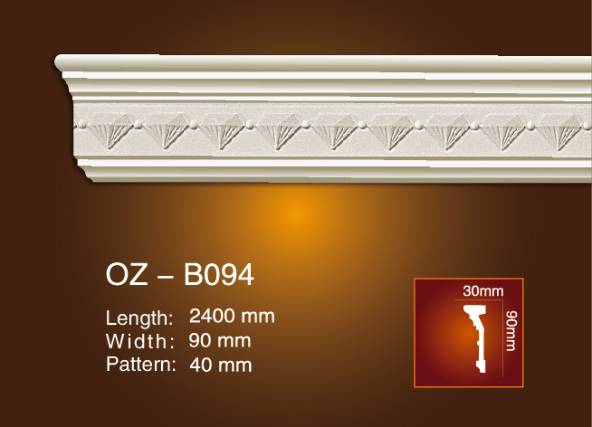 Reliable Supplier Plaster Carved Corner Mouldings -