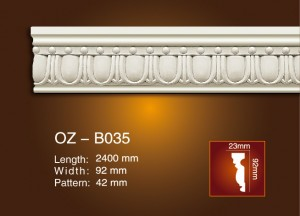 Factory supplied Crown Moulding On Ceiling -