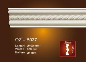 2017 New Style Concrete Column Moulds - Carved Flat Line OZ-B037 – Ouzhi