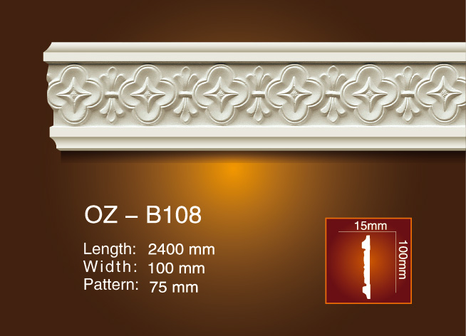 Fixed Competitive Price Flexible Cornice Moulding -