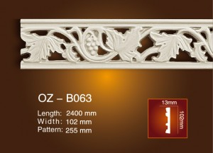 Carved Flat Line OZ-B063