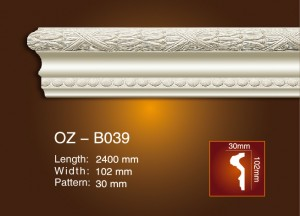 Carved Flat Line OZ-B039