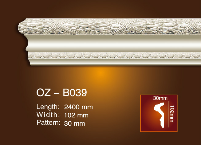 New Arrival China Plastic Injection Mold Manufacturer - Carved Flat Line OZ-B039 – Ouzhi Featured Image