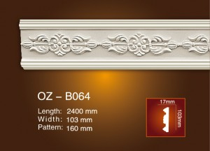 Carved Flat Line OZ-B064