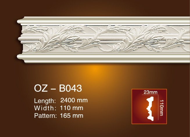 Top Quality Glassfiber Reinforced Plastic Moulds - Carved Flat Line OZ-B043 – Ouzhi