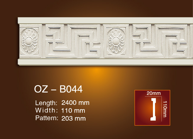 Special Price for Ceiling And Wall Pu Foam Cornice -