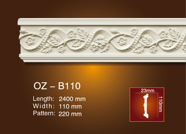 One of Hottest for Soft Biscuit Rotary Moulder - Carved Flat Line OZ-B110 – Ouzhi