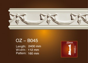Carved Flat Line OZ-B045