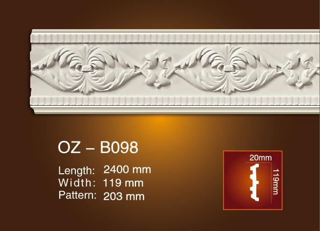 OEM Supply Wholesale Crown Molding -