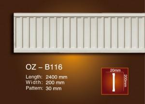 Сийлсэн хавтгай мөр OZ-B116