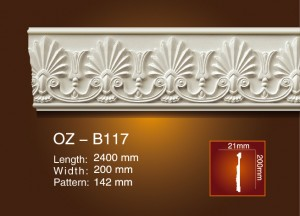 Carved Flat Line OZ-B117