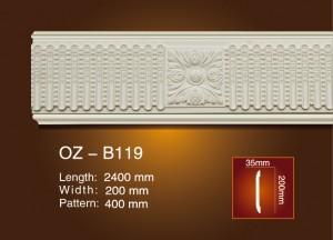 Сийлсэн хавтгай мөр OZ-B119