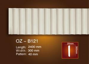 Сийлсэн хавтгай мөр OZ-B121