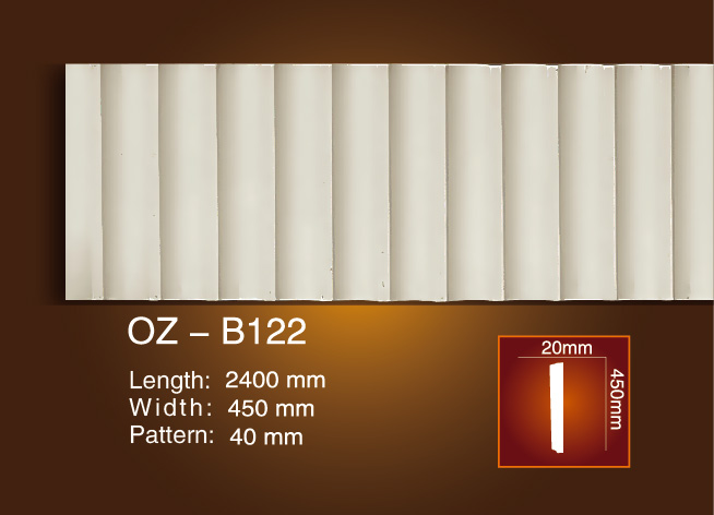 Carved Flat Line OZ-B122 Featured Image