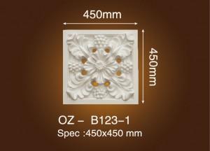 Carved Flat Line OZ-B123-1