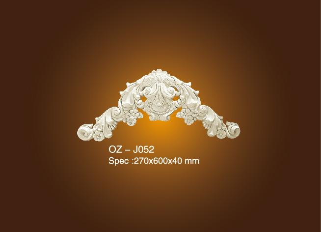 Good Quality Carving Mouldings - Decorative Flower OZ-J52 – Ouzhi