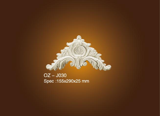 Excellent quality Wood Moulding Cornice - Decorative Flower OZ-J030 – Ouzhi