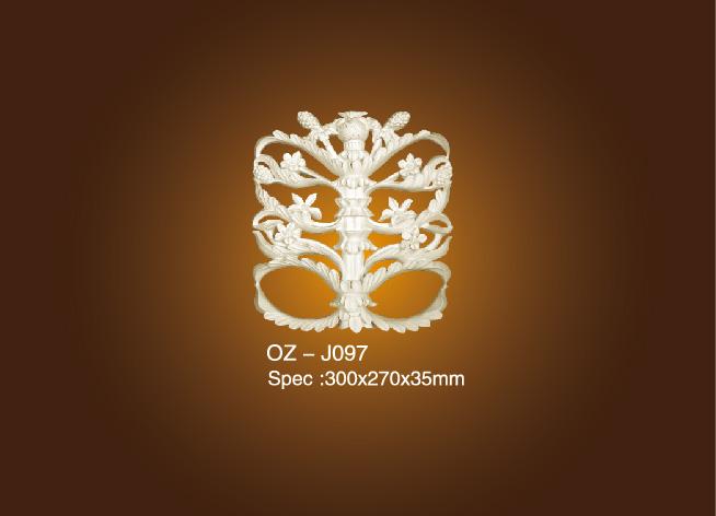 Big discounting Pu Ceiling Bullnose Moulding - Decorative Flower OZ-J097 – Ouzhi