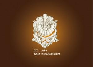 100% Original Factory Polyurethane Ceilling Moulding - Decorative Flower OZ-J089 – Ouzhi