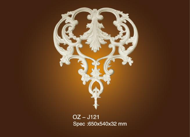 OEM Supply Cheapest Ceiling Moulding - Decorative Flower OZ-J121 – Ouzhi