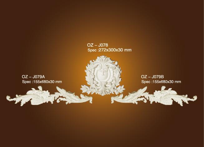 Decorative Flower OZ-J078-J079A/B Featured Image