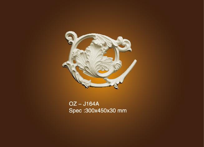 New Fashion Design for Roman Column Pillar Molds - Decorative Flower OZ-J164A – Ouzhi