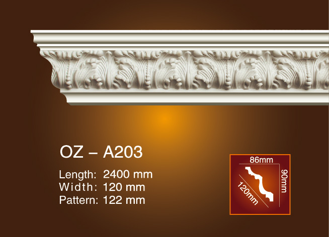 Carving Cornice Moulding OZ-A203 Featured Image