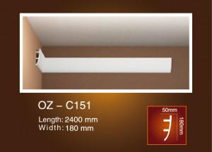 High definition Wpc Wood Mouldings -