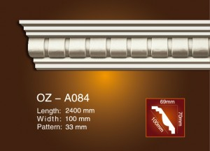 Discountable price Decorating Marble Fireplace -<br />  Carving Cornice Moulding OZ-A084 - Ouzhi