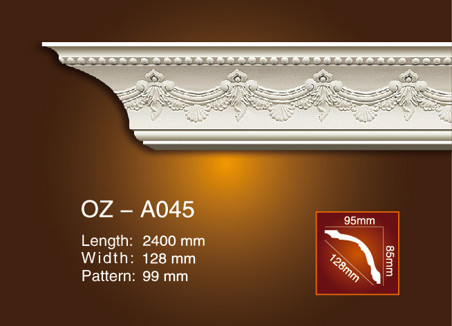 OEM Customized Carved Cornice Molding -