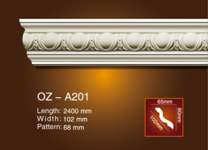 Carving Cornice Moulding OZ-A201