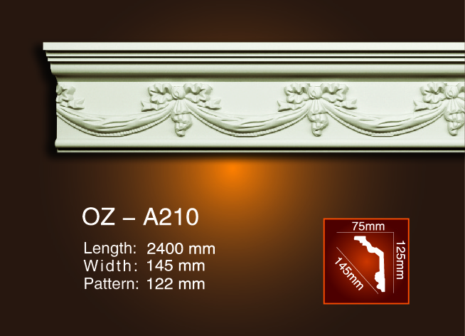 Carving Cornice Moulding OZ-A210 Featured Image