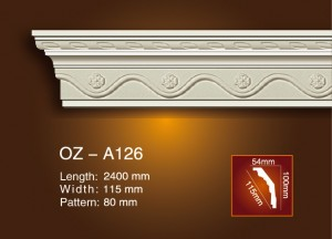 Carving Cornice Moulding OZ-A126