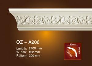 Cheapest Price Decoration Cornice Mould - Carving Cornice Moulding OZ-A206 – Ouzhi