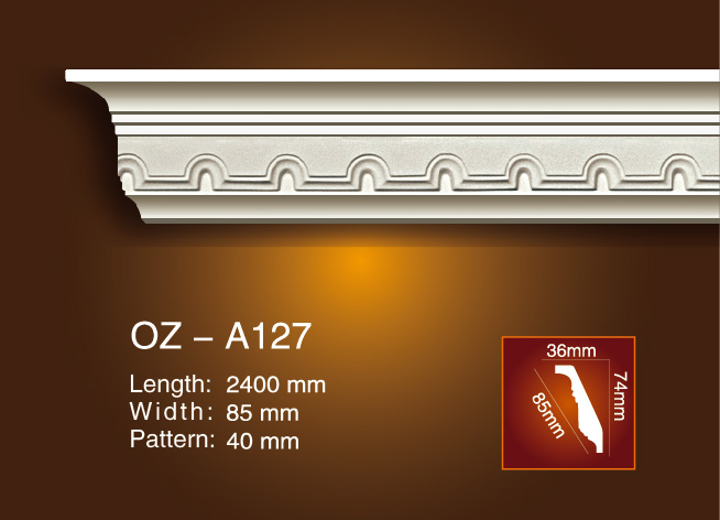 Carving Cornice Moulding OZ-A127 Featured Image