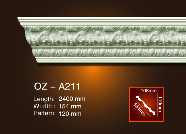 New Delivery for Polyurethane Carved Cornice Mouldings -