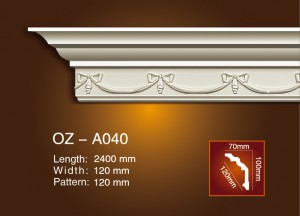 Carving Cornice Moulding OZ-A040